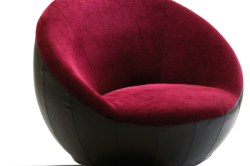 Круглое бескаркасное кресло