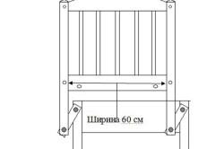 Схема маятникого механизма кроватки