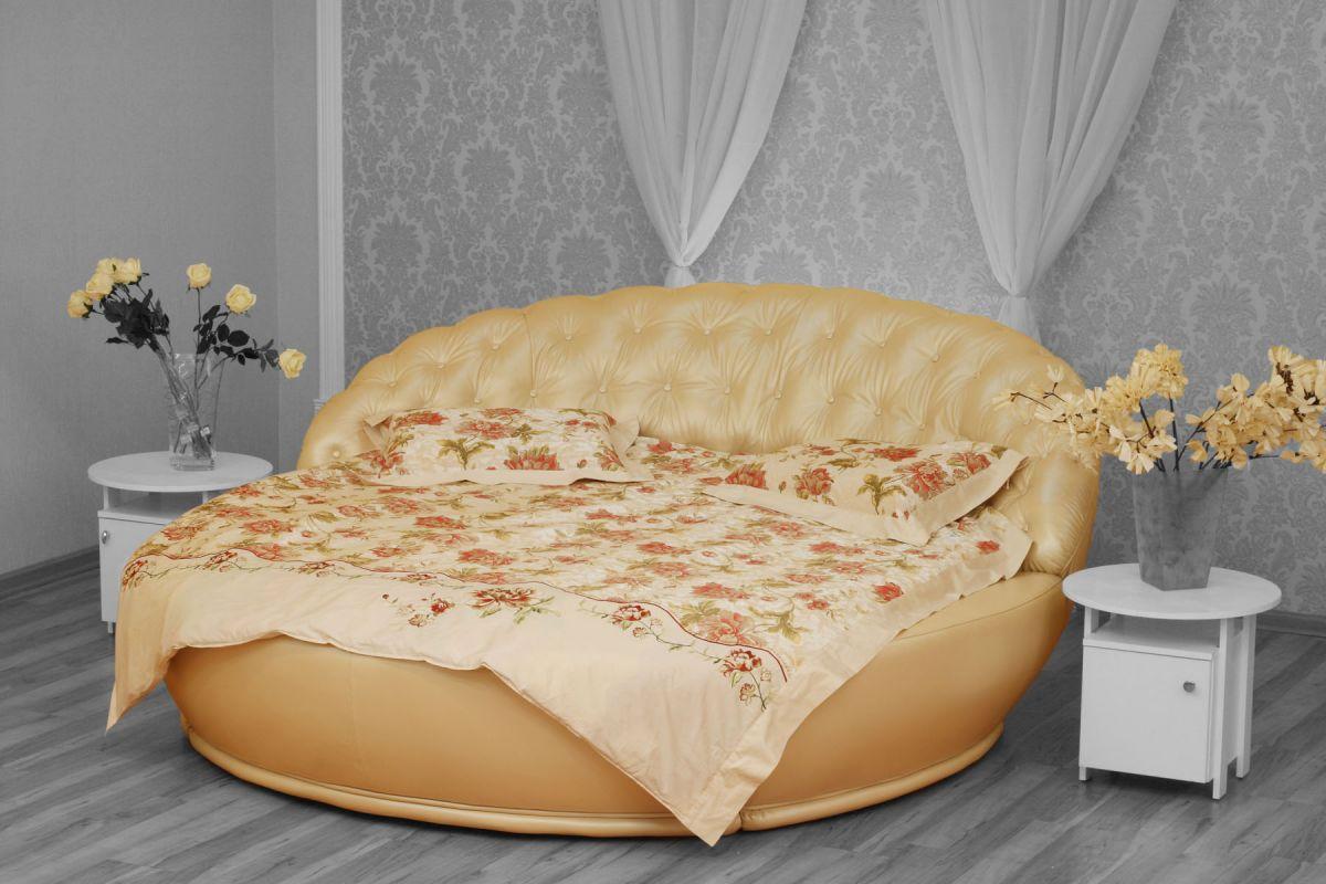 Круглая кровать своими руками: делаем мебель за 2 часа 82