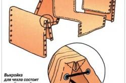 Схема стягивания выкройки