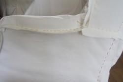 Рис. 5. Скрепление элементов подлокотника с выкройкой сидения