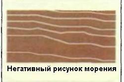 Этапы морения древесины