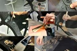 Этапы декорирования стола