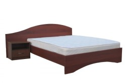 Угловая кровать из дсп