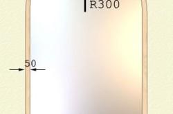 Схема установки зеркала