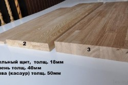 Материалы для изготовления столешницы
