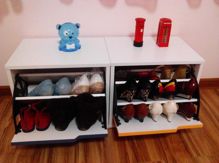 Шкаф для обуви, сделанный своими руками