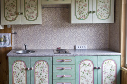 Пример декупажа кухонного фасада