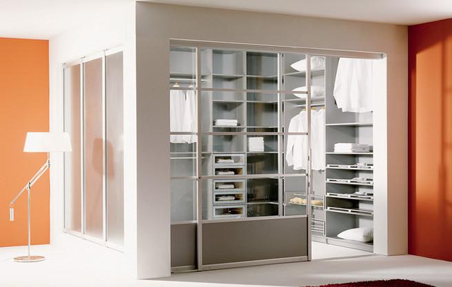 Встроенный шкаф из гипсокартона