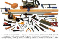 Инструменты для изготовления мебели в прихожую
