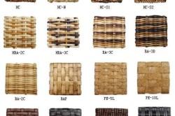 Варианты плетения садового диванчика