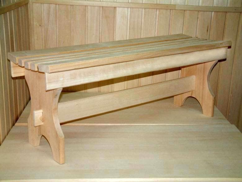 Скамейка для бани