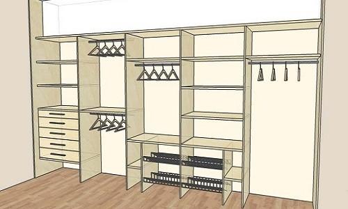Проект шкафа-купе