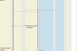 Схема сборки двери шкафа-купе