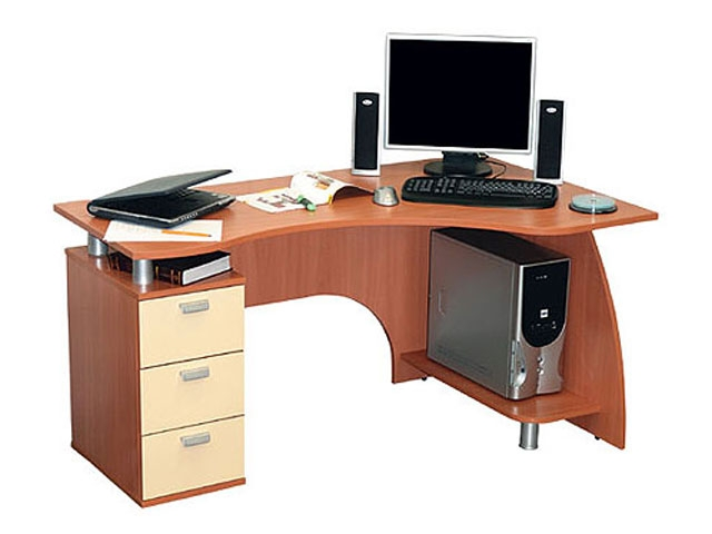 Пример исполнения углового стола