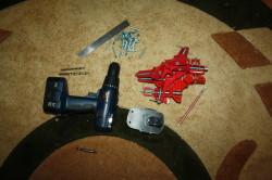 Инструменты для сборки тумбы.