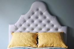 Фигурное изголовье для кровати