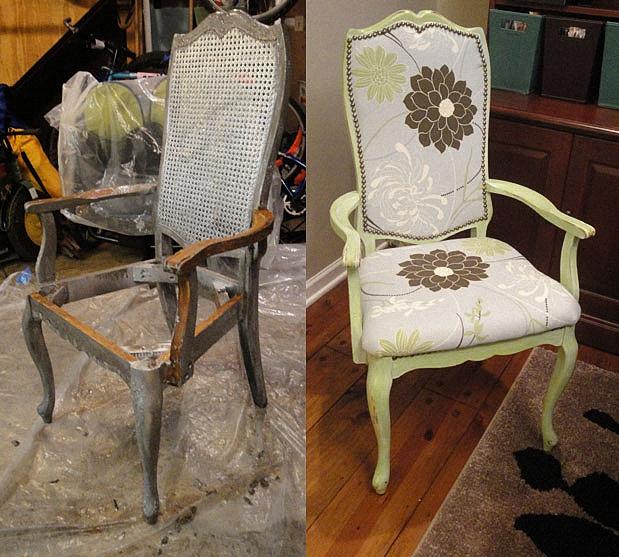 Как отремонтировать стул