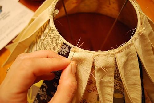 Как обновить абажур для торшера своими руками