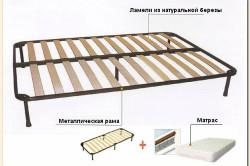 Схема устройства ортопедической кровати