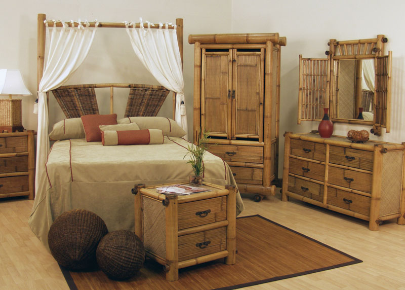 Спальный гарнитур из бамбука