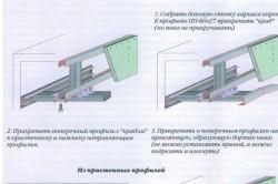 Устройство гипсокартонной потолочной ниши с усиленной консолью