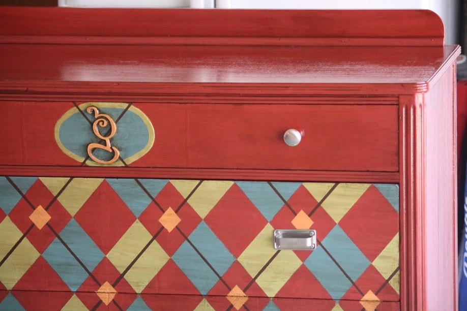 Покрасить шкаф акриловой краской своими руками 44