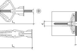Схема крепежа «бабочка»