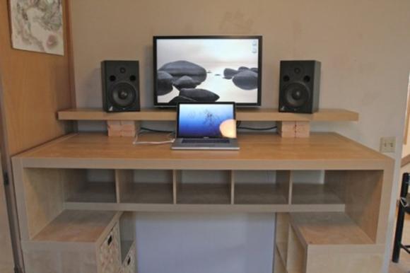 Самодельный компьютерный стол