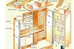 Схема изготовления барной стойки
