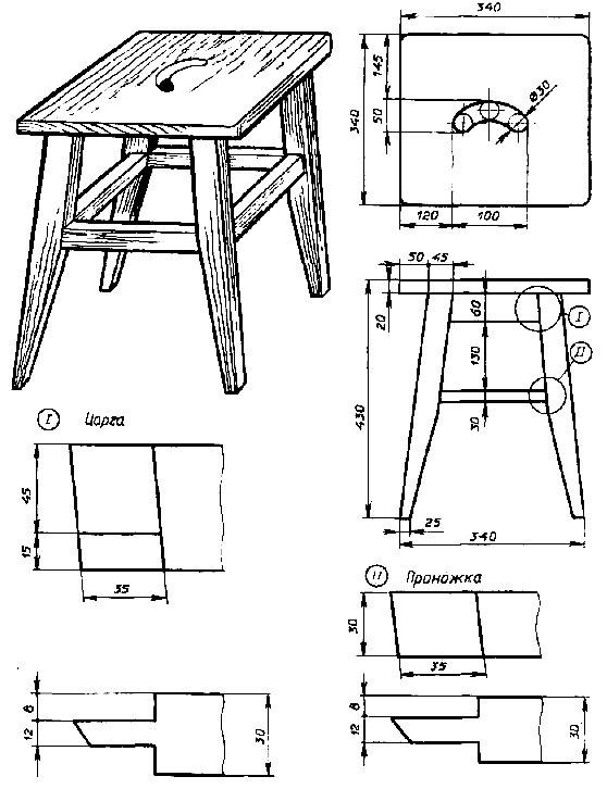 Изготовление мебели своими руками чертеж фото