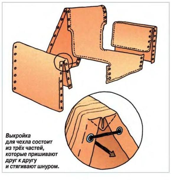Как сшить чехол своими руками пошаговая инструкция 709