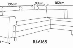 Схема размеров углового дивана своими руками