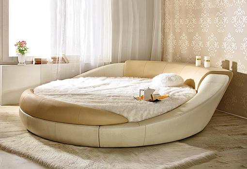 кровать круглая фото красноярск