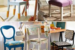Обновление стульев техникой декупаж