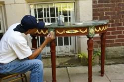 Реставрация старого стола
