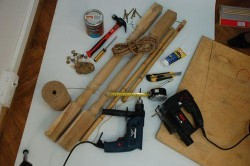 Инструменты для изготовления раскладного стола