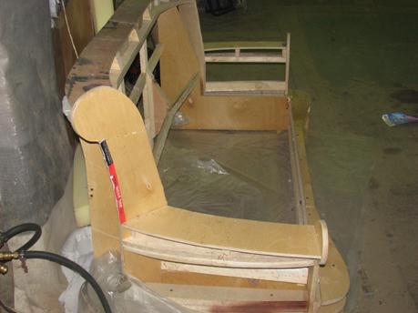 Изготовление каркаса сидений своими руками 43