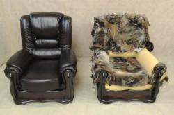 На сегодняшний день особенной популярностью пользуется мебель, обтянутая кожей. Она выглядит красиво, эстетично и со вкусом.