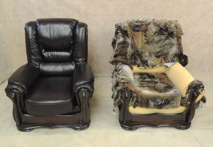 Как перетянуть мебель своими руками фото