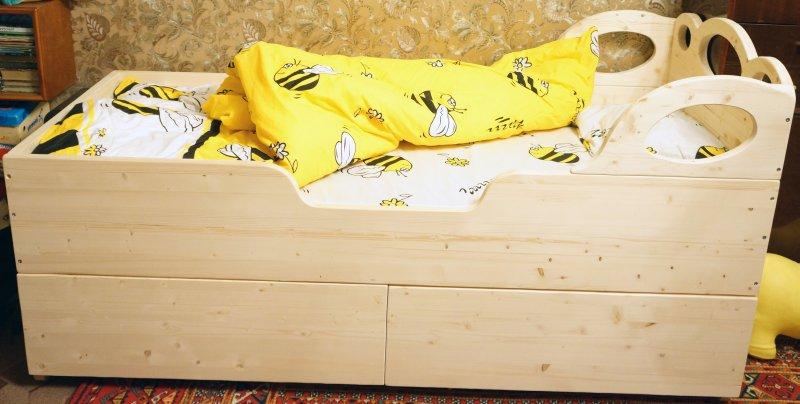 Как сделать кровать для человека - Loukhi.ru