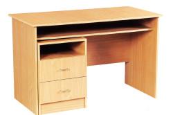 Письменный стол из мебельного щита