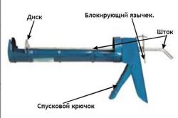 Пистолет для жидких гвоздей