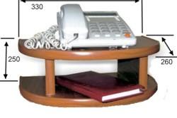 Размеры типичной полки для телефона