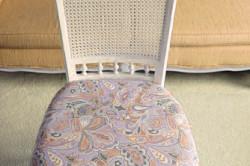 Реставрация обивки стула