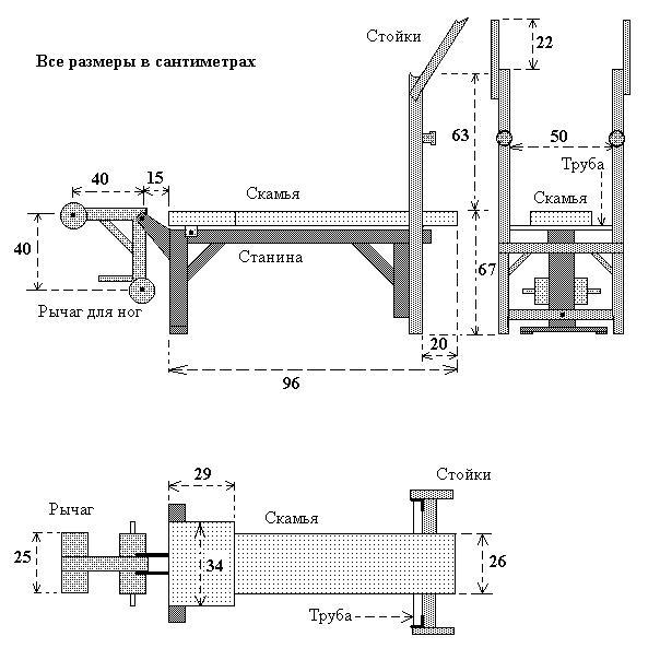 Инструкция для тренажера