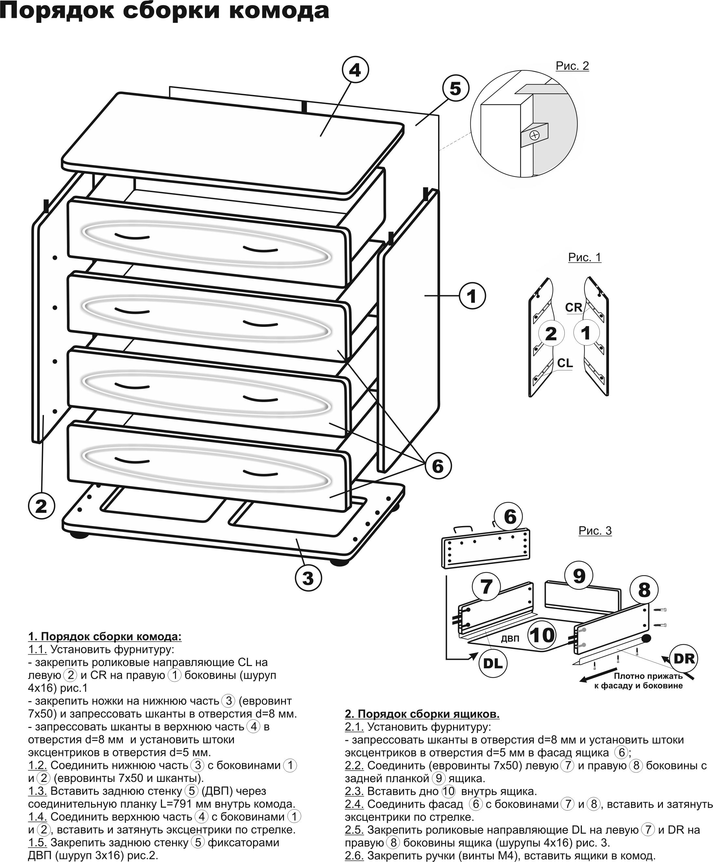 Сборка мебель своими руками чертежи и схемы 948