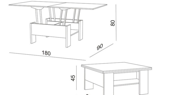 Мебель трансформер своими руками чертеж