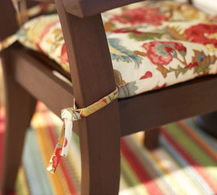 Подушечка для стульев своими руками