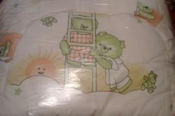 Ткань для защиты кроватки